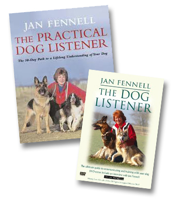 A picture of Jan Fennell's two books