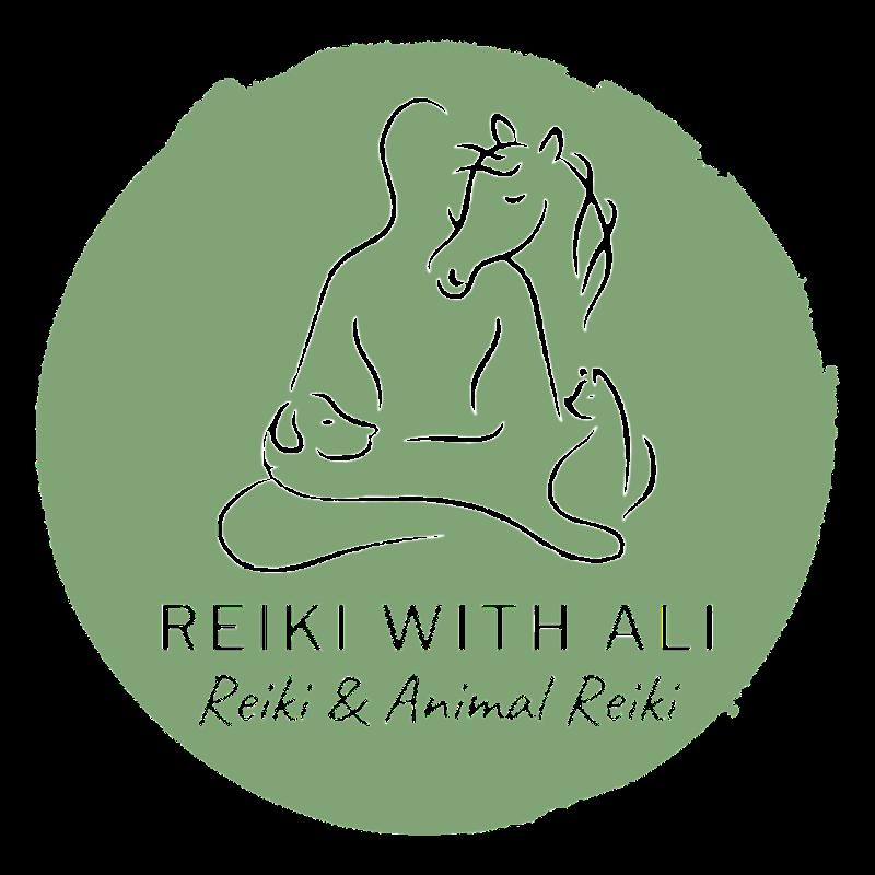Green reiki with Ali logo