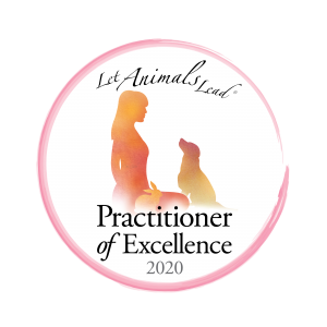 The Let Animals Lead Practitioner of Excellence 2020 logo