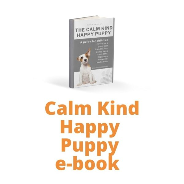 Picture of the Calm Kind Happy Puppy book