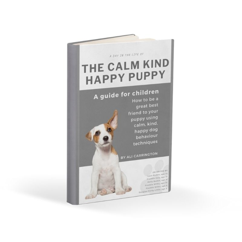 cover picture of ebook The Calm Kind Happy Puppy