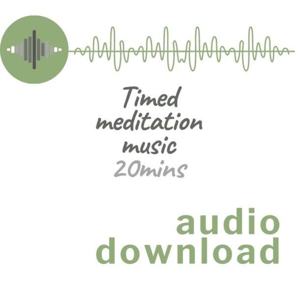 Audio download image for Timed meditation music