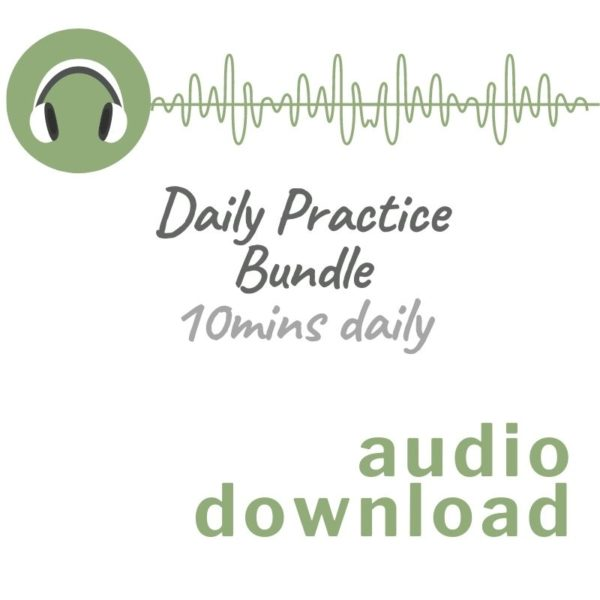 Audio download image for Daily Practice Bundle 10 mins daily