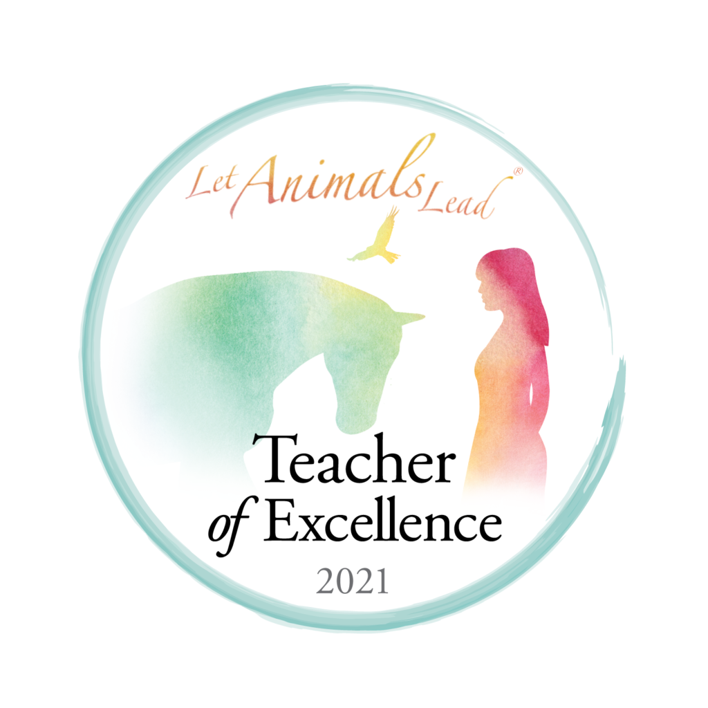 Let Animals Lead Teacher of Excellence 2021 logo