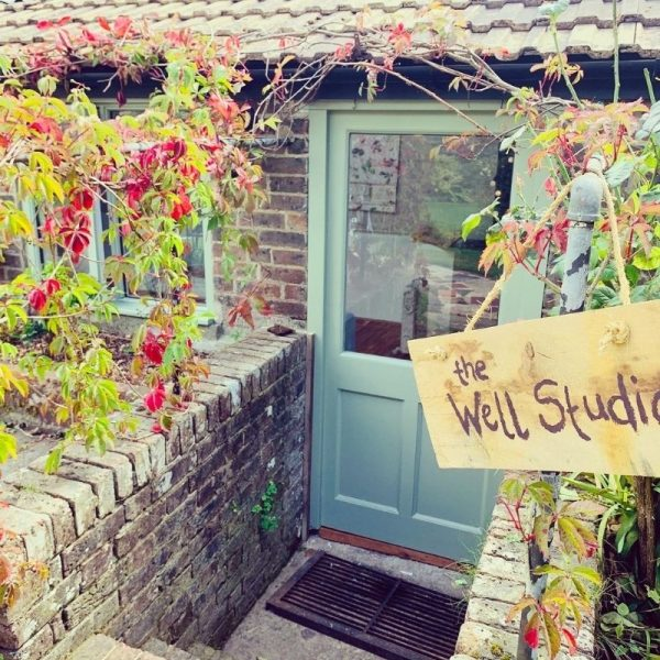 Picture of the door to the Well Studio